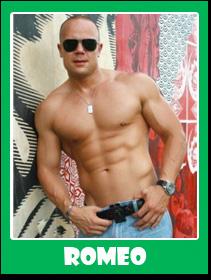 Romeo Male Stripper